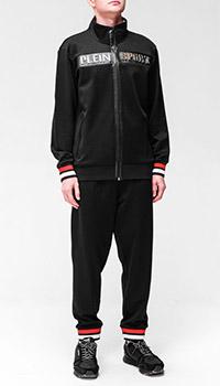 Черный спортивный костюм Philipp Plein с манжетами, фото