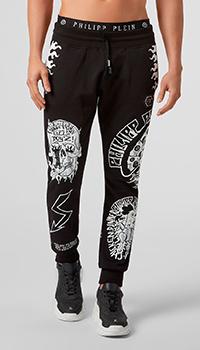 Спортивные брюки Philipp Plein с принтом, фото