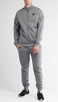 Спортивный костюм Philipp Plein серого цвета, фото