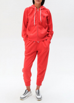 Спортивный костюм Polo Ralph Lauren красного цвета, фото