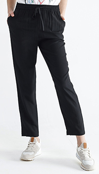 Спортивные брюки Red Valentino черного цвета, фото