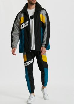 Спортивный костюм Dsquared2 в стиле колор-блок, фото