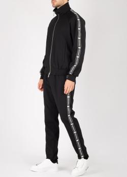 Черный спортивный костюм Dsquared2 с лампасами, фото