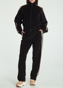 Прогулочный вельветовый костюм Dsquared2 с лампасами, фото