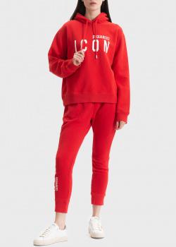 Спортивный костюм Dsquared2 Icon красного цвета, фото