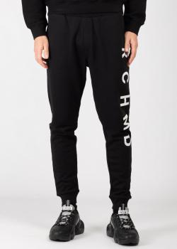 Спортивные брюки John Richmond с брендовым принтом, фото