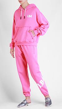 Хлопковый спортивный костюм J.B4 Just Before розового цвета, фото