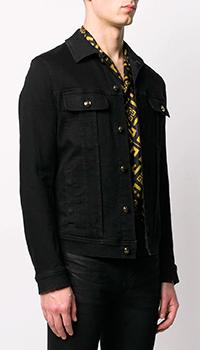 Джинсовая куртка Dolce&Gabbana черного цвета, фото