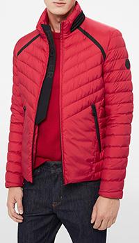 Красная куртка Bogner стеганая, фото