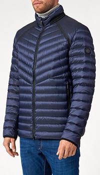 Стеганая куртка Bogner синего цвета, фото