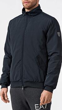 Куртка Ea7 Emporio Armani темно-синего цвета, фото