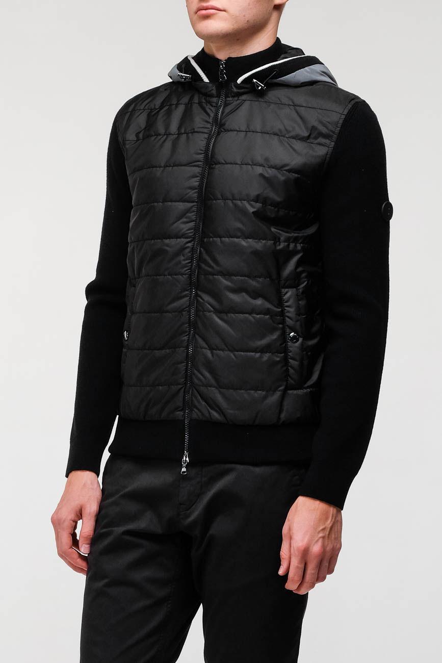 Куртка Bogner с трикотажными рукавами, фото