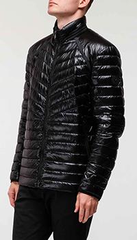 Короткий пуховик Bogner черного цвета, фото