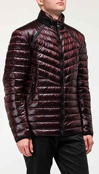 Мужская куртка Bogner бордового цвета, фото