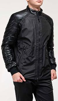Мужская куртка Bogner с кожаными вставками, фото