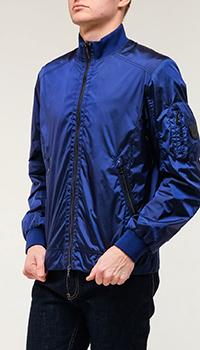 Бомбер Bogner синего цвета, фото