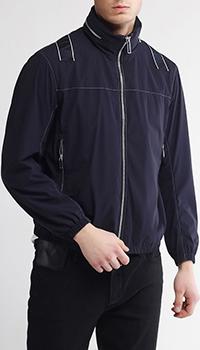 Синяя куртка Emporio Armani на молнии, фото