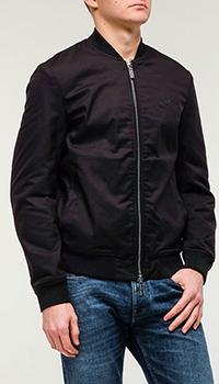 Мужской бомбер Emporio Armani черного цвета, фото