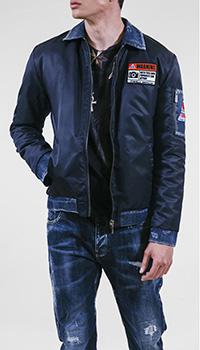 Мужская куртка Frankie Morello с вышивкой, фото
