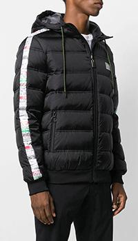 Черная куртка Frankie Morello с лампасами, фото