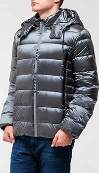 Куртка-пуховик Frankie Morello цвета металлик, фото