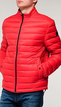 Мужская куртка Hugo Boss красного цвета, фото
