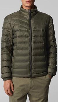 Куртка Hugo Boss коричневого цвета, фото