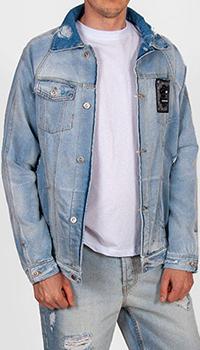 Джинсовая куртка J.B4 Just Before голубого цвета, фото