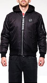Мужская куртка-бомбер Philipp Plein с капюшоном, фото
