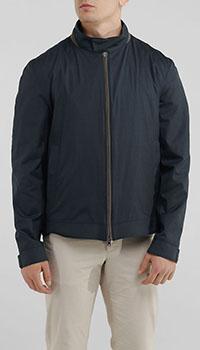 Куртка на молнии Herno синего цвета, фото