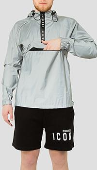 Куртка-анорак John Richmond серого цвета, фото