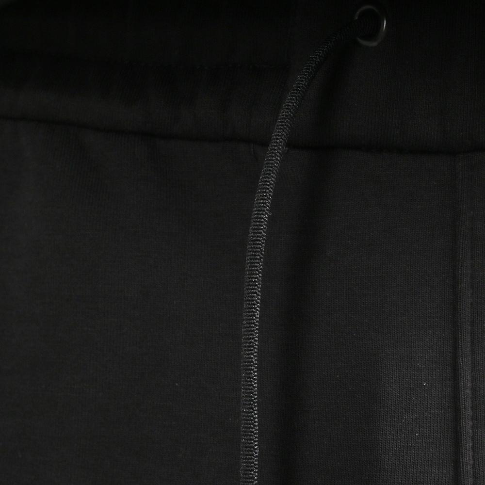 Черная ветровка Ea7 Emporio Armani с брендовым лого