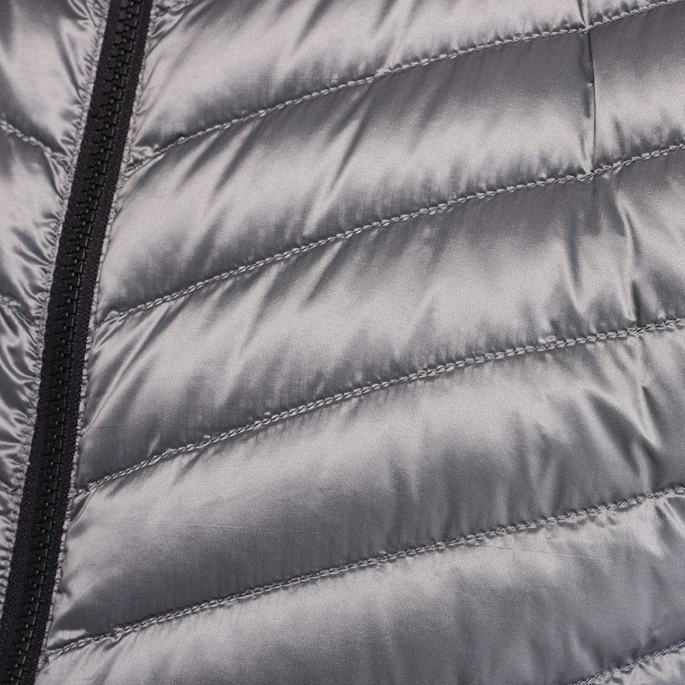 Стеганая безрукавка Bogner серого цвета
