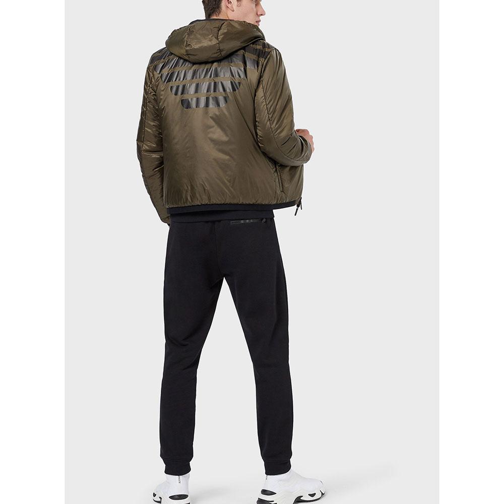 Двусторонняя куртка Emporio Armani с принтом на спине