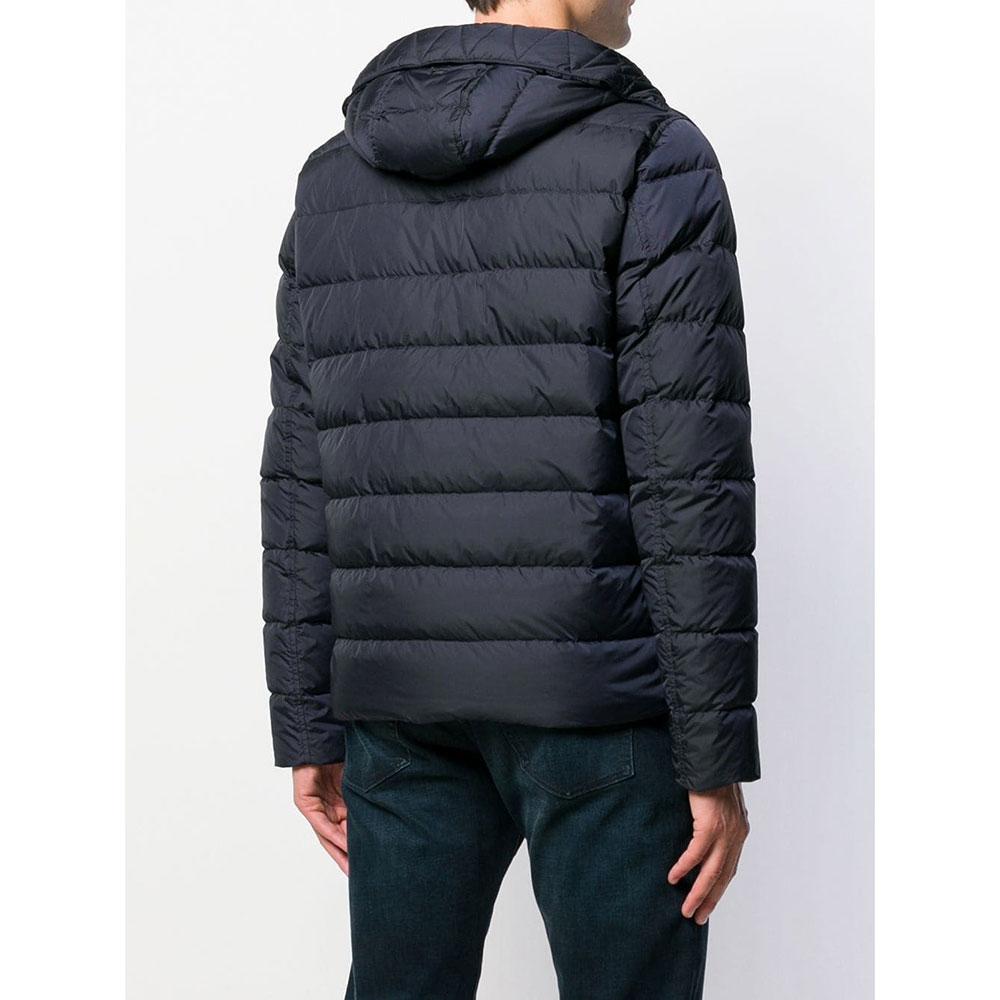 Синяя куртка Herno на молнии
