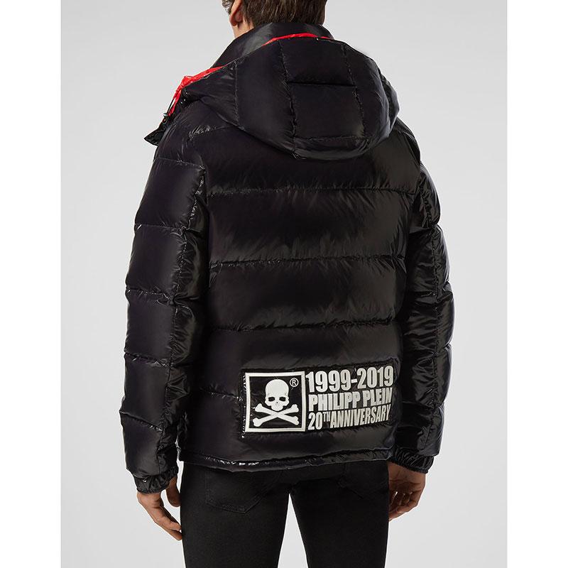 Куртка Philipp Plein Anniversary 20th черная