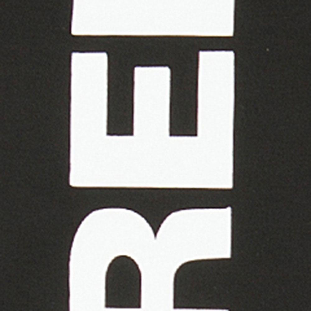 Черный бомбер Dsquared2 с белым принтом на спине