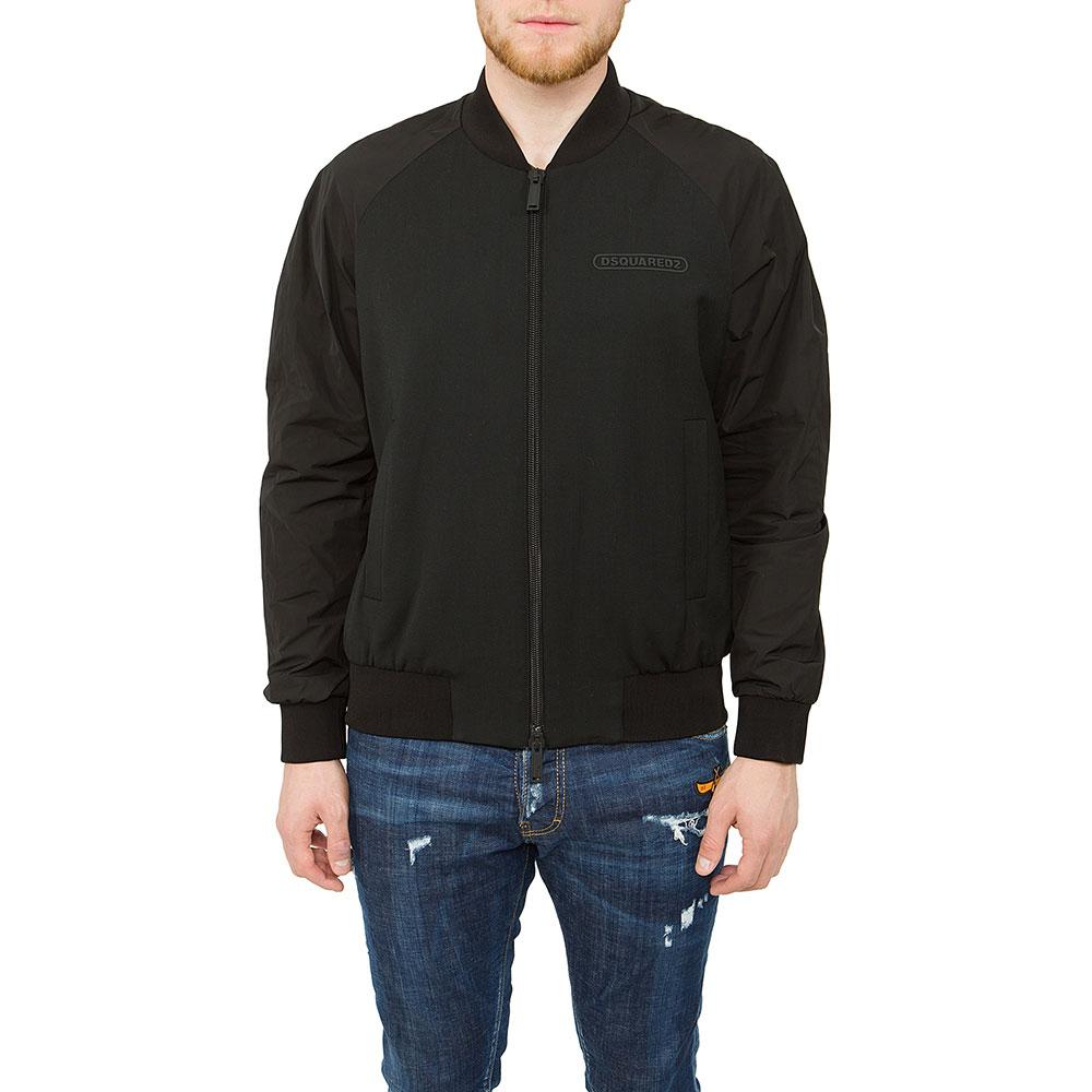 Мужская куртка Dsquared2 черного цвета