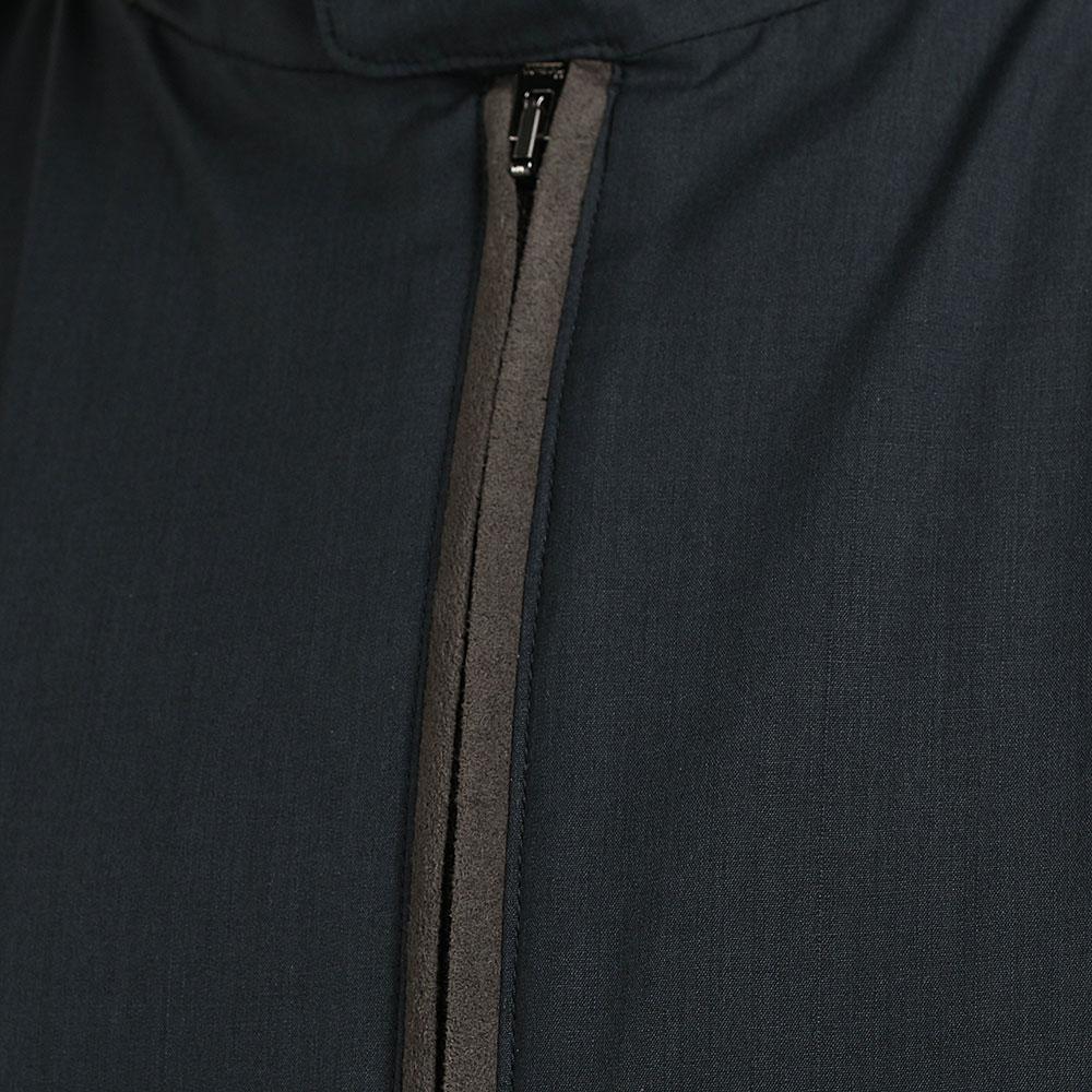 Куртка на молнии Herno синего цвета