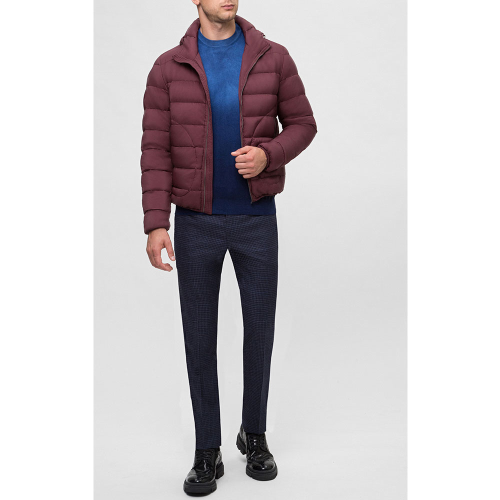 Стеганая куртка Herno бордового цвета