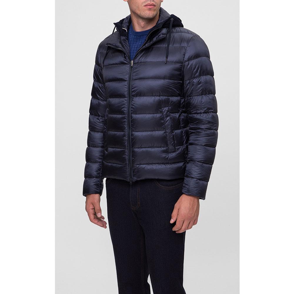 Мужская куртка Herno синего цвета