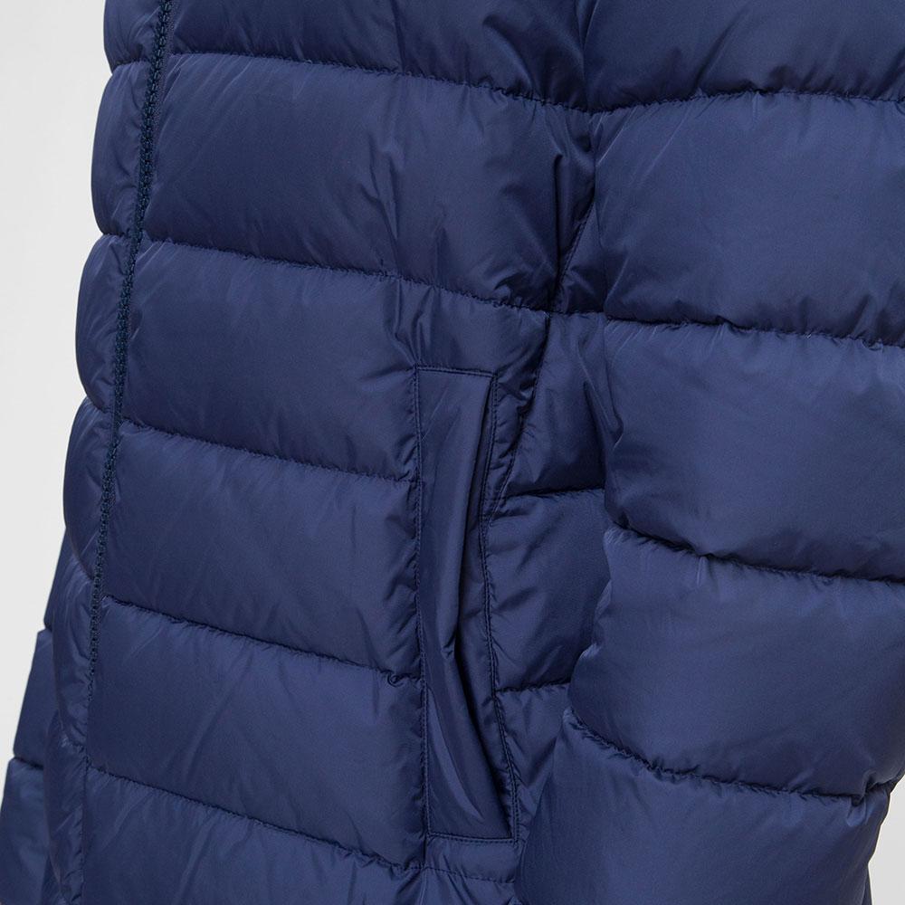 Мужская куртка Herno синего цвета с капюшоном