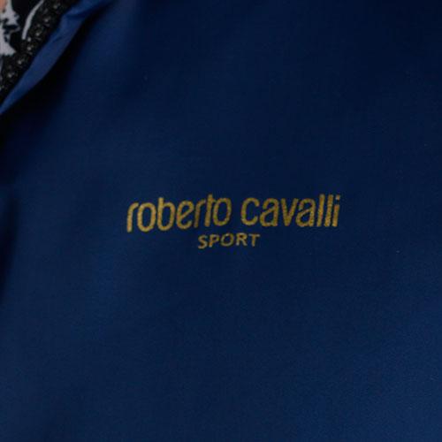 Ветровка двухсторонняя Roberto Cavalli синяя, фото