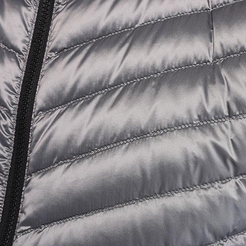 Стеганая безрукавка Bogner серого цвета, фото
