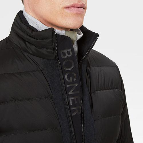 Пуховик Bogner Jogi-D2 черного цвета, фото