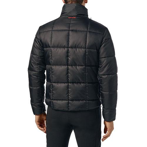 Стеганая куртка Philipp Plein Plein Sport черного цвета, фото