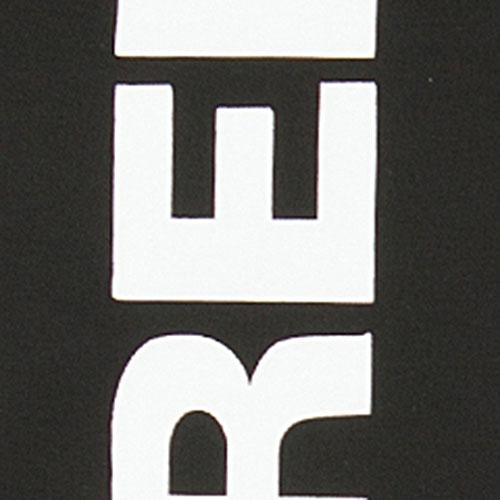 Черный бомбер Dsquared2 с белым принтом на спине, фото