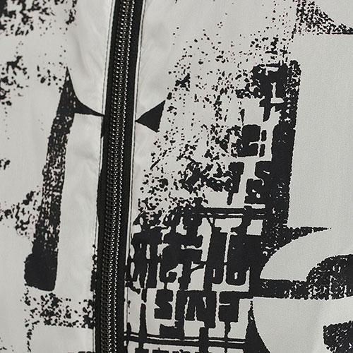 Ветровка Herno с черно-белым принтом, фото