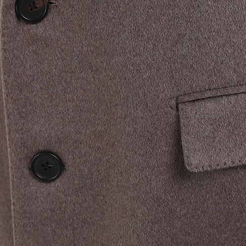 Кашемировое пальто Lardini коричневого цвета, фото