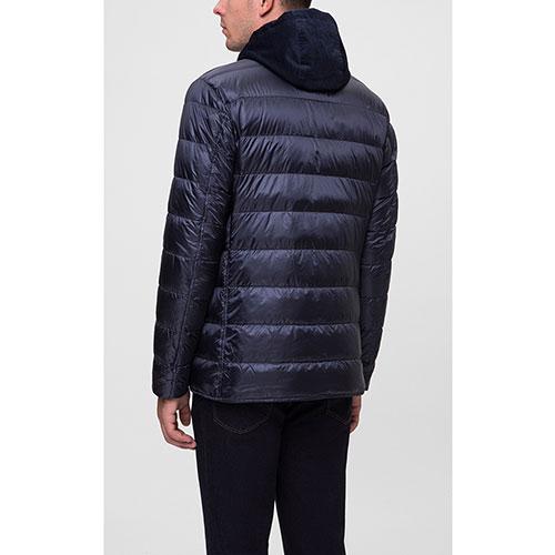 Темно-синяя куртка Herno в виде пиджака с подложкой, фото